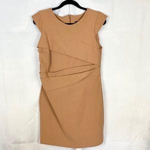 TOPSHOP fitted cap sleeve mini dress SZ 12